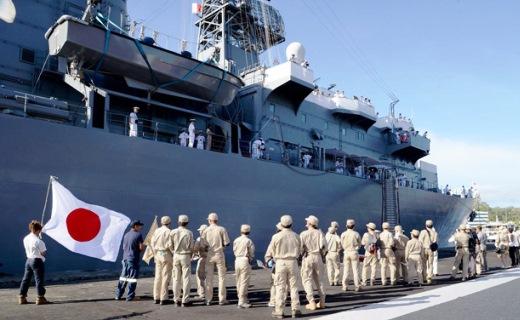 9月19日 ホニアラ入港 ガダルカナル未送還遺骨収集活動第4次派遣隊による出迎え