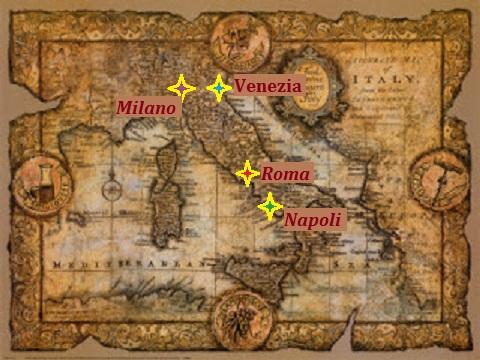 ジョン・ダグラス-イタリアの地図[1]