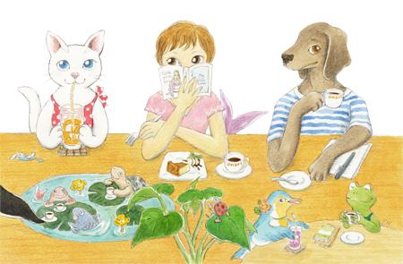 猫と人魚と犬