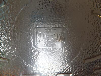 Glasbake キャセロール POPPY3