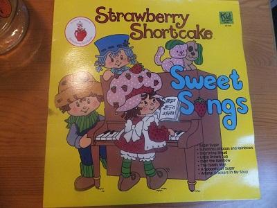 ストロベリーショートケーキ レコード1