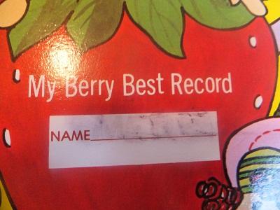 ストロベリーショートケーキ レコード3