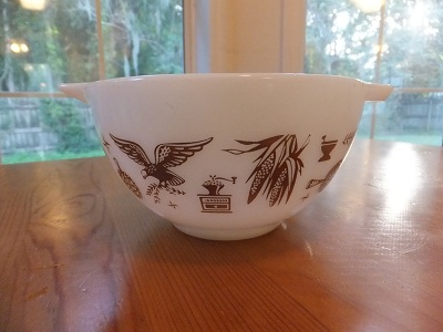 Old Pyrex アーリーアメリカン 2