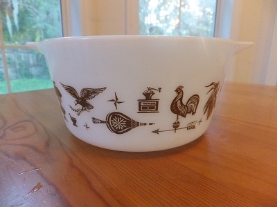 Old Pyrex アーリーアメリカン 3