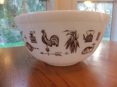 Old Pyrex アーリーアメリカン 4