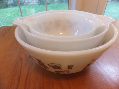 Old Pyrex アーリーアメリカン 8