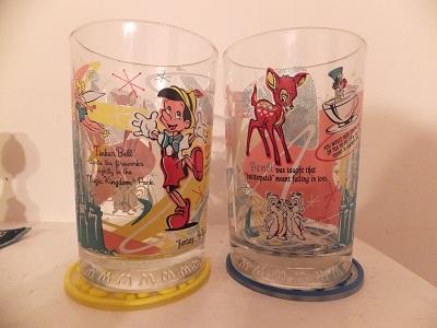 ディズニー&マクドナルド コラボ グラス1