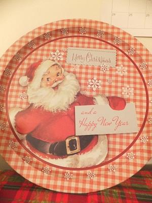 クリスマスプレート1
