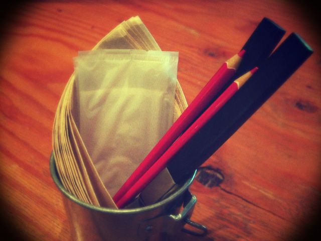 鉛筆型のお箸