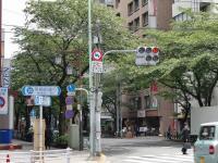 東京煮干屋本舗@中野・20130521・交差点