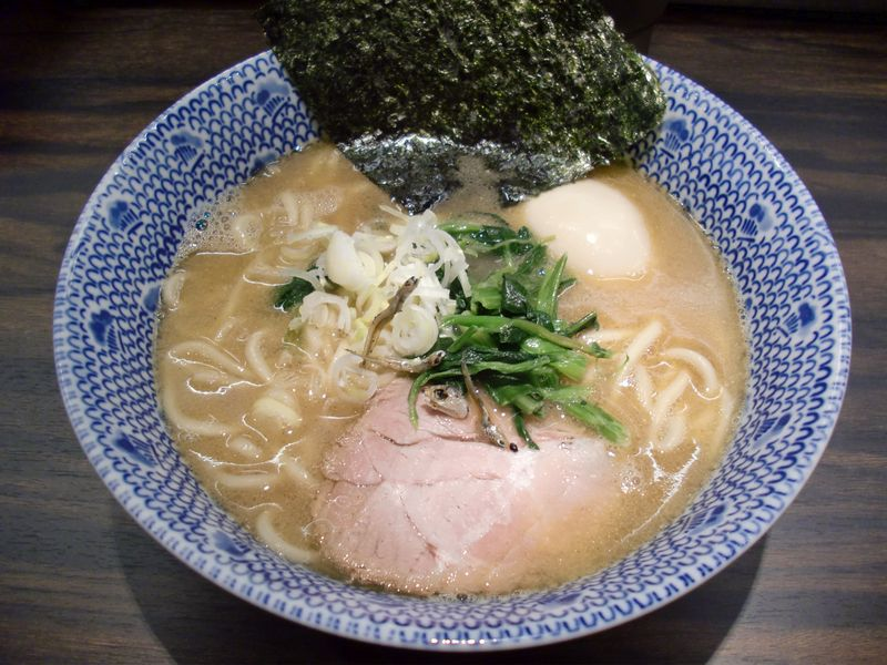 東京煮干屋本舗@中野・20130521・味玉ラーメン