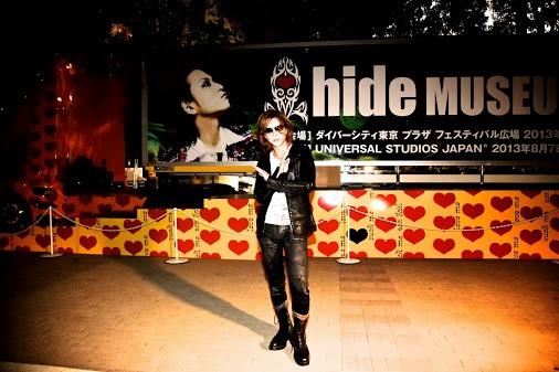 In Tokyo with Hide ggfff