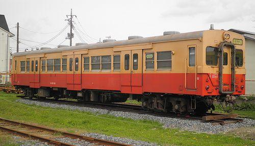 いすみ鉄道・キハ30 62(2013年4月6日・国吉駅)2