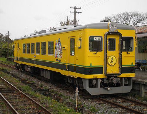 いすみ鉄道・いすみ351(2013年4月6日・国吉駅)