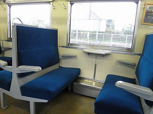 いすみ鉄道・キハ28 2346座席(2013年4月6日・大原駅)