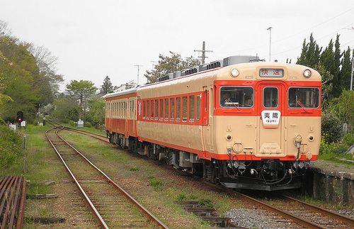 いすみ鉄道・キハ28 2346+キハ52 125(2013年4月6日・国吉駅)1
