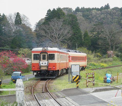 いすみ鉄道・キハ52 125+キハ28 2346(2013年4月6日・西畑駅)1