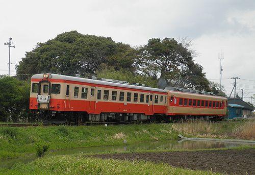 いすみ鉄道・キハ52 125+キハ28 2346(2013年4月6日・西大原~上総東間)1
