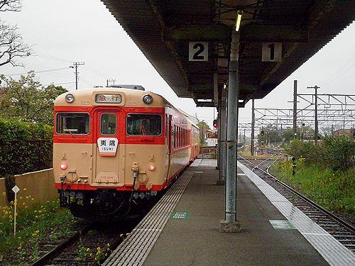 いすみ鉄道・キハ28 2346+キハ52 125(2013年4月6日・大原駅)