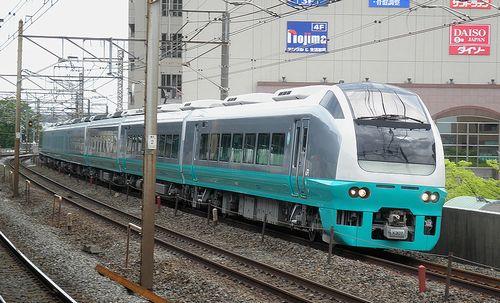 水カツE653系K307編成(2013年4月19日・亀有駅)1
