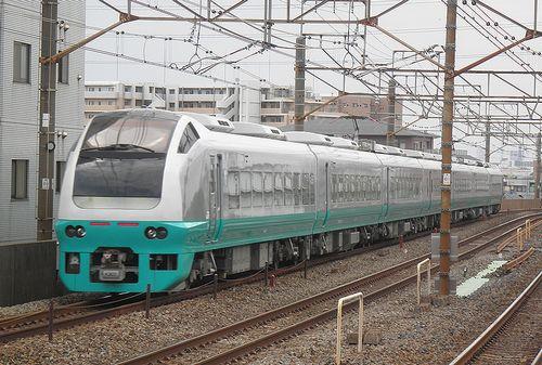 水カツE653系K307編成(2013年4月19日・亀有駅)2