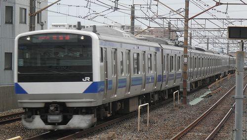 水カツE531系編成(2013年4月19日・亀有駅)