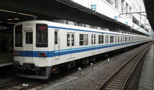 東武東上線8000系・8175F(2013年4月19日・池袋駅)