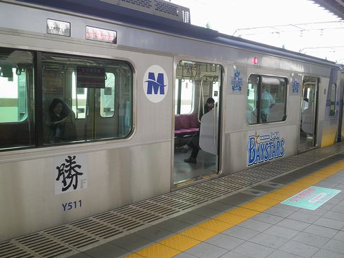 横浜高速鉄道Y500系(西武線練馬駅・2013年4月15日)2