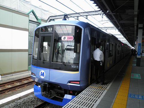 横浜高速鉄道Y500系(西武線練馬駅・2013年4月15日)1