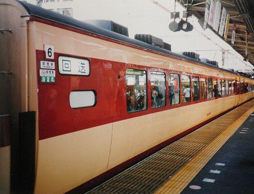サロ183形1000番代(2004年8月・新宿駅)