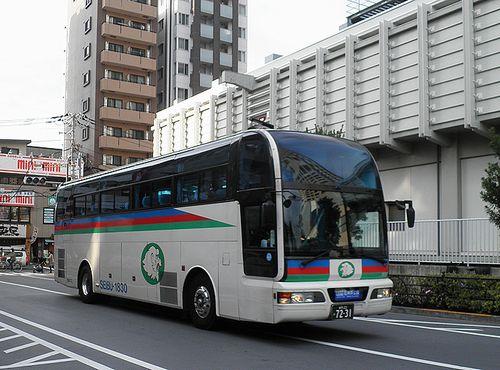 西武バス・石神井公園~羽田空港線(石神井公園駅前・2013年4月25日)