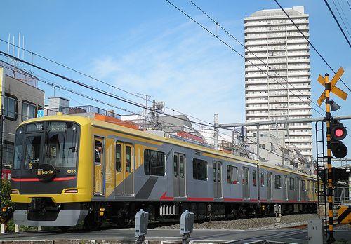 東急5050系4110F「渋谷ヒカリエ号」(2013年4月29日・西武線大泉学園駅)