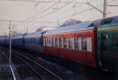 「夢空間東京号」(2001年11月25日・高崎線宮原駅)2