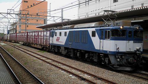 EF64 1018[愛](2013年5月3日・西国分寺駅)