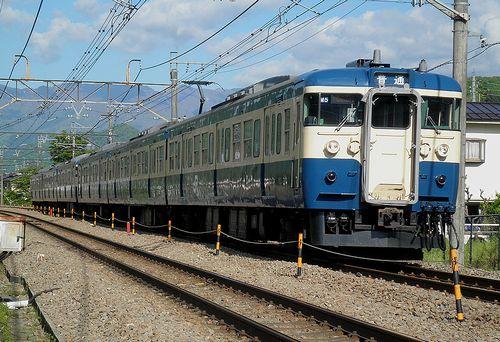 八トタ115系M5+M6編成(2013年5月3日・梁川~鳥沢間)