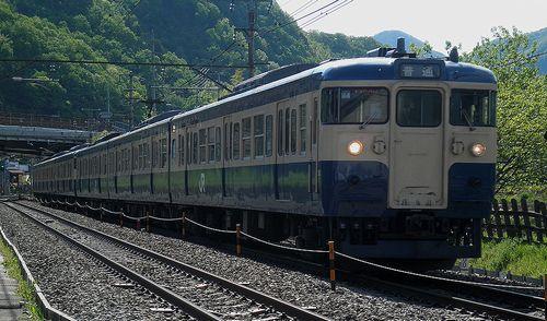 八トタ115系M4+M7編成(2013年5月3日・梁川~鳥沢間)