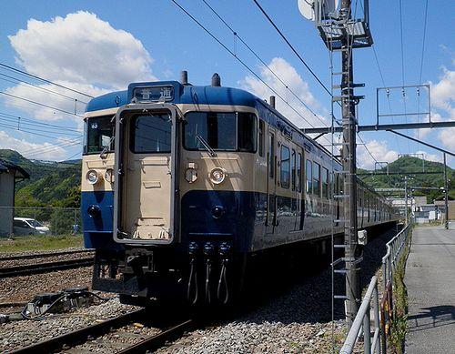 八トタ115系M3+M8編成(2013年5月3日・鳥沢駅)