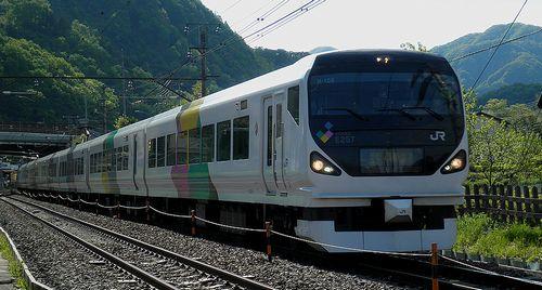 長モトE257系M-109編成(2013年5月3日・梁川~鳥沢間)