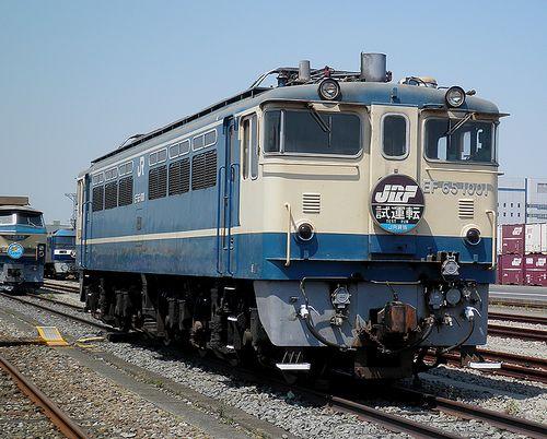 EF65 1001(東京貨物ターミナル駅・2013年5月5日)1