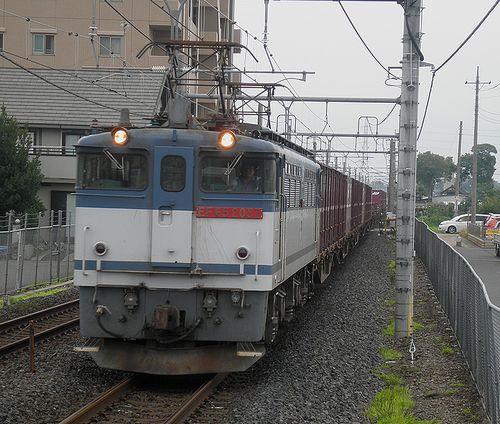 EF65 2057[新](2012年7月7日・新白岡駅)