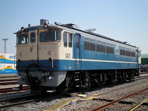 EF65 1001(東京貨物ターミナル駅・2013年5月5日)2