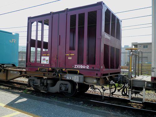 ZX19A形コンテナ(東京貨物ターミナル駅・2013年5月5日)1