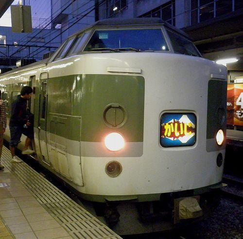 長ナノ189系N102編成・特急「かいじ180号」(2013年5月5日・立川駅)