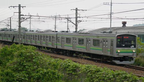 横クラ205系H15編成(横浜線中山~十日市場間・2013年5月11日)