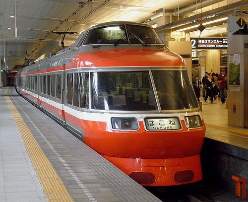 小田急7000形(2013年5月11日・新宿駅)