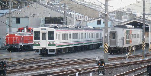 DE10 1099・107系・185系(2013年5月15日・大宮総合車両センター本所)