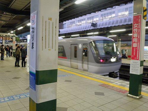 西武・臨時特急「ドーム98号」練馬駅臨時停車(2013年5月11日)