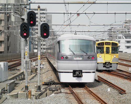 西武・臨時特急「ドーム91号」練馬駅臨時停車(2013年5月15日)3