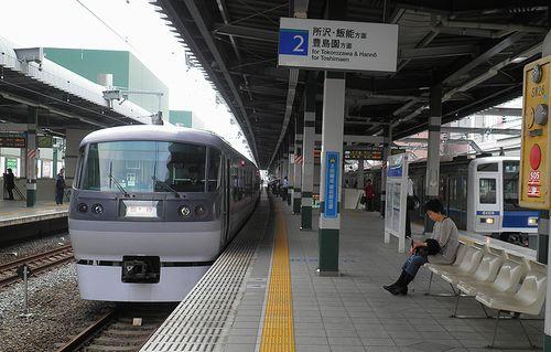 西武・臨時特急「ドーム91号」練馬駅臨時停車(2013年5月15日)2