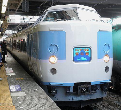 八トタ183系M50編成「ホリデー快速河口湖」(2012年12月29日・八王子駅)